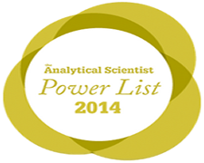 Dr. John Hanrahan on Analytical Scientists Power List of 2014