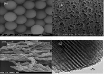 SEM & TEM Mesoporous & Fully Porous Particles